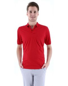 Meantime short sleeve Poloshirt rot