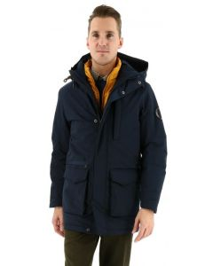 S4 winterjacke superman marine