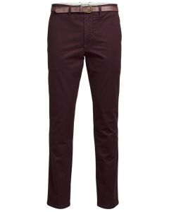 Jack & Jones chinohose JJcody burgundy