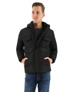 Jack & Jones winterjacke JCONEW schwarz