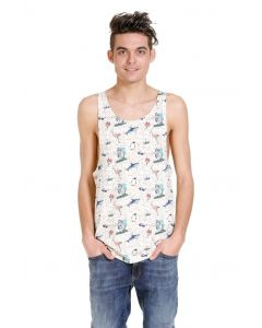 Jack und Jones beach tank-top, creme